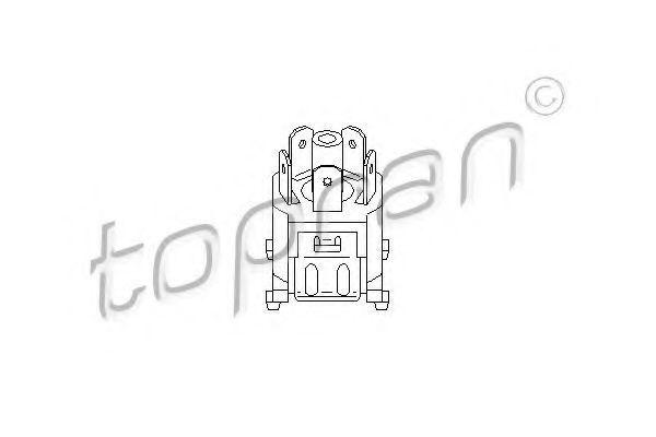 Втулка петли двери HANS PRIES/TOPRAN 206055