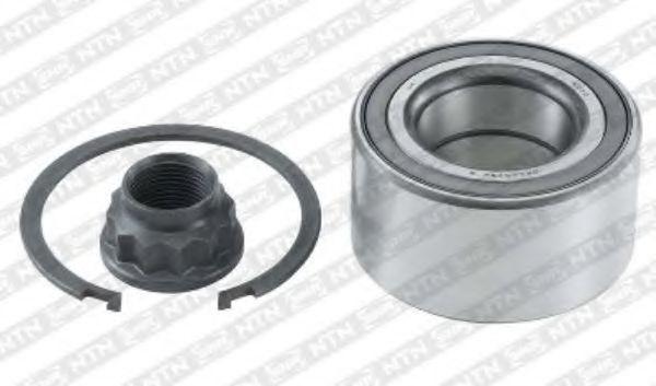 Подшипник ступицы колеса комплект NTN-SNR R16975: купить
