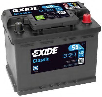 Аккумулятор 55Ач Classic EXIDE EC550: описание