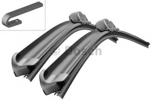 Щетки стеклоочистителя комплект AeroTwin A531S 530/450мм BOSCH 3 397 118 901: описание