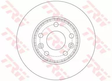 Диск тормозной TRW DF6072: стоимость