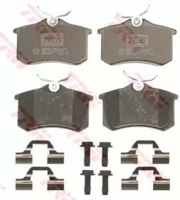 Колодки тормозные TRW GDB1330: продажа
