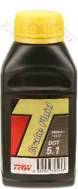 Тормозная жидкость DOT5.1 250мл TRW PFB525: продажа