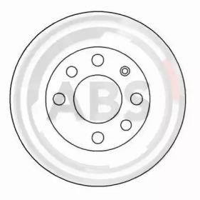 Диск тормозной A.B.S. 15770: цена