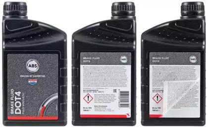 Тормозная жидкость DOT4 1л A.B.S. 7501: стоимость