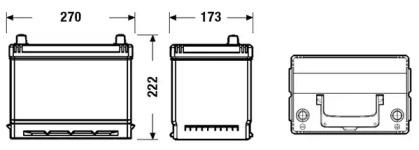 Аккумулятор TUDOR _TB704: купить