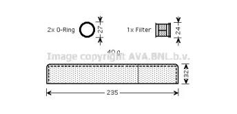 Осушитель кондиционера AVA TOD349: стоимость