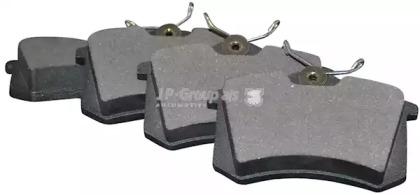 Колодки тормозные JP GROUP 1163706310: описание