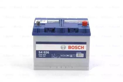 Аккумулятор S4 70Ач 630А BOSCH 0 092 S40 260: продажа