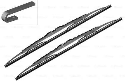 Щетки стеклоочистителя комплект Eco V3 530C 530/530мм BOSCH 3 397 005 162: стоимость