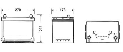 Аккумулятор SONNAK SA754: продажа