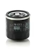 Фильтр масляный MANN W671: цена