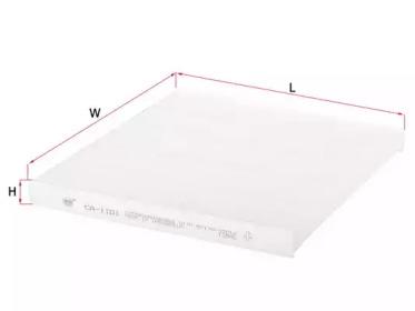 Фильтр воздуха салона SAKURA CA1101: стоимость