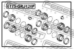 Ремкомплект суппорта FEBEST 0175-GRJ120F: купить