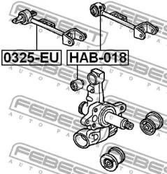 Рычаг подвески FEBEST 0325-EU: заказать