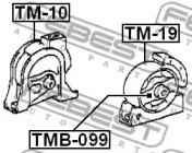 Опора двигателя FEBEST TM-19: цена