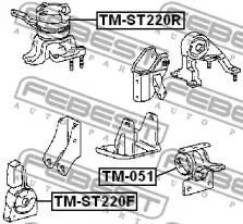 Опора двигателя FEBEST TM-ST220F: цена