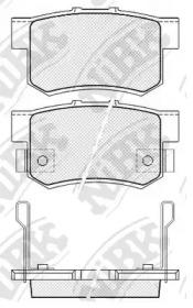 Колодки тормозные задние NIBK PN8397: описание
