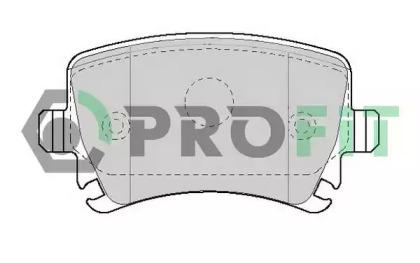 Колодки тормозные PROFIT 5000-1636: цена