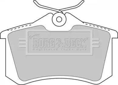 Колодки тормозные BORG & BECK BBP1512: купить