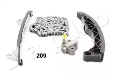 Комплект цепи привода распредвала JAPKO KJK209: заказать