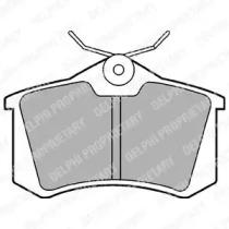Колодки тормозные DELPHI LP565: заказать