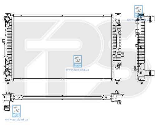 Радиатор охлаждения FPS 74A424X