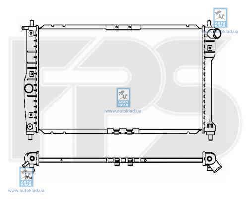 Радиатор охлаждения FPS 22A775