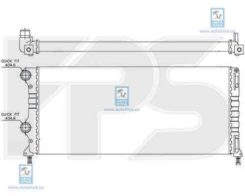 Радиатор охлаждения FPS 26A112