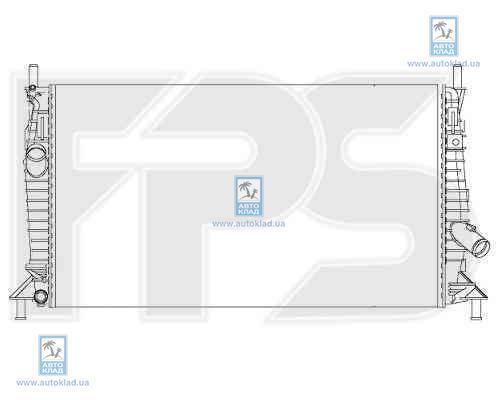 Радиатор охлаждения FPS 44A196X