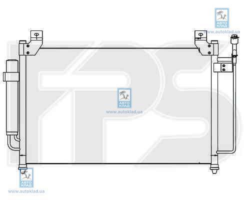 Радиатор кондиционера FPS 44K419