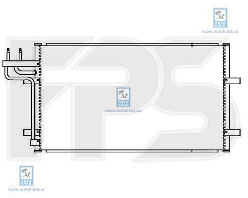 Радиатор кондиционера FPS 28K82