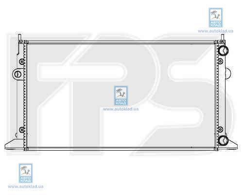 Радиатор охлаждения FPS 74A176X
