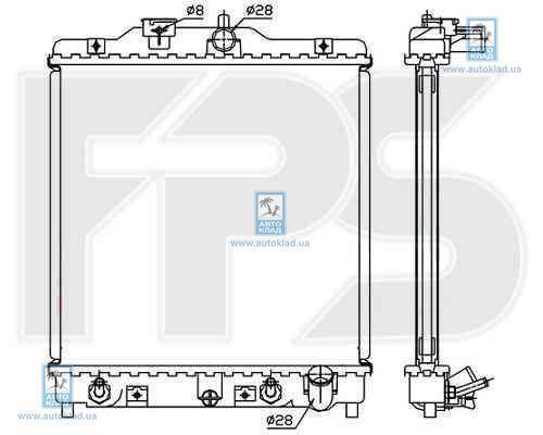Радиатор охлаждения FPS 30A582