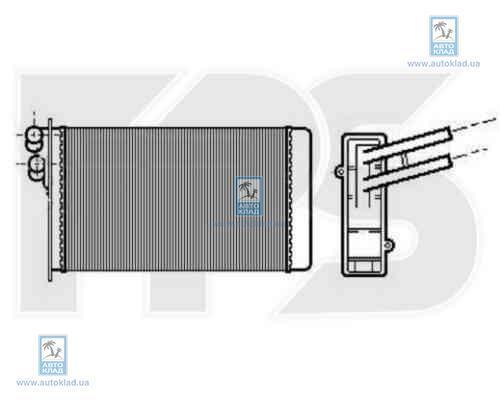 Радиатор отопителя салона FPS 12N60X
