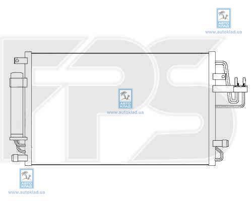 Радиатор кондиционера FPS 32K305