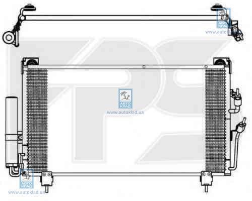 Радиатор кондиционера FPS 48K517