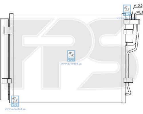 Радиатор кондиционера FPS 32K170X