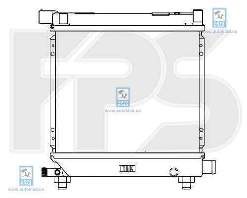 Радиатор охлаждения FPS 46A216X