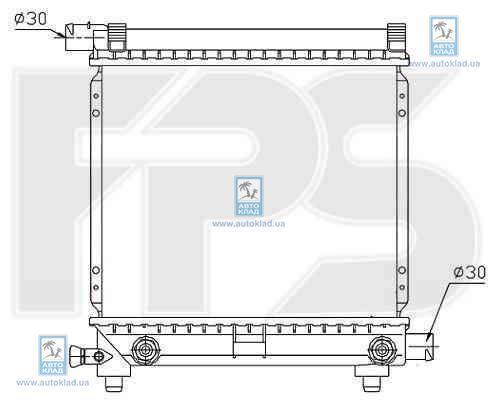 Радиатор охлаждения FPS 46A215