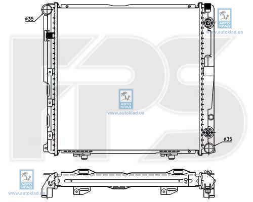 Радиатор охлаждения FPS 46A212X