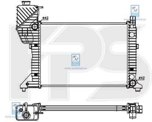 Радиатор охлаждения FPS 46A745P