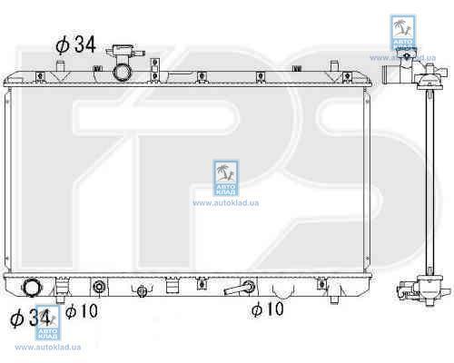 Радиатор охлаждения FPS 68A95