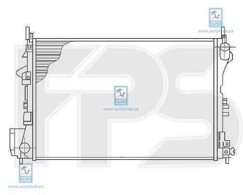 Радиатор охлаждения FPS 52A1093