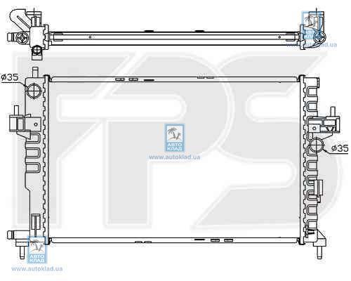 Радиатор охлаждения FPS 52A264X