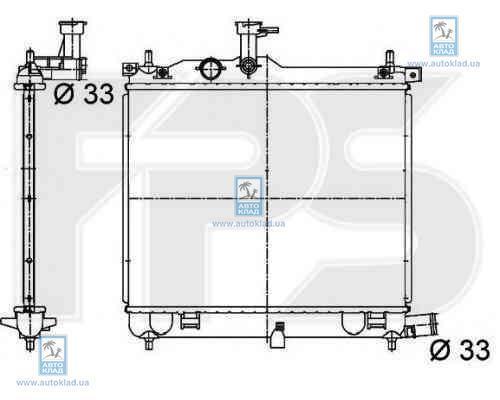 Радиатор охлаждения FPS 32A256X