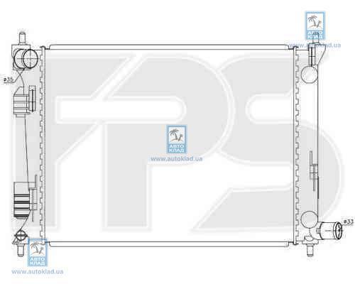 Радиатор охлаждения FPS 32A364X