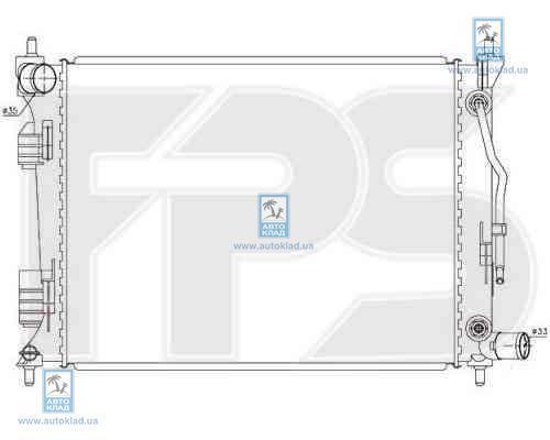 Радиатор охлаждения FPS 32A372