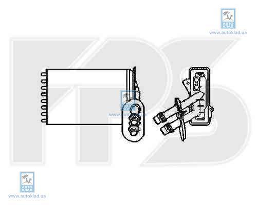 Радиатор отопителя салона FPS 12N61