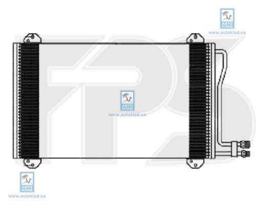 Радиатор кондиционера FPS 46K107